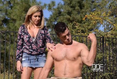 Tone That Muscle – Busty Blonde Stuffed By Strong Stud – Danica Dillon (2016)