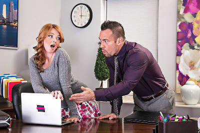 Marie McCray & Johnny Castle in Naughty Office (2015)