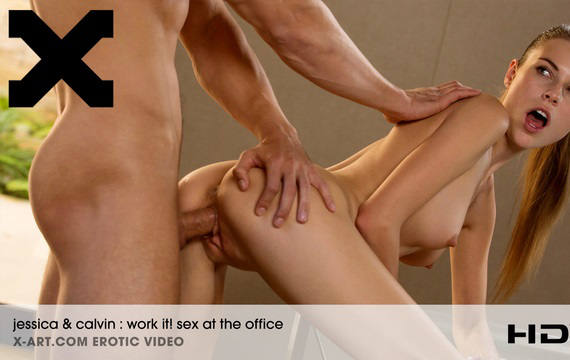 Work It Sex at the Office – Jessica & Calvin (2016)